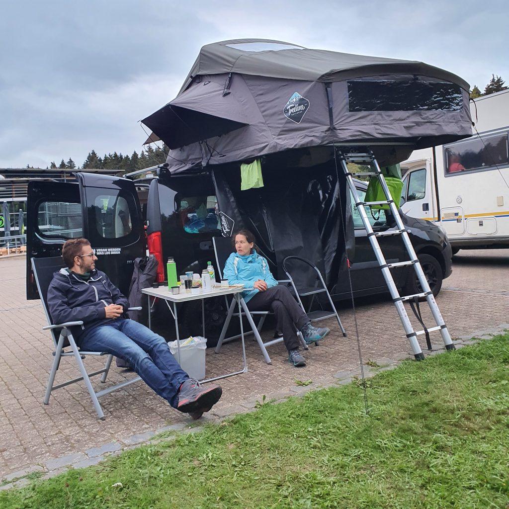 Dachzelt Rottenburg am Neckar